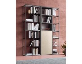 Libreria Ideas Artigianale in metallo in Offerta Outlet
