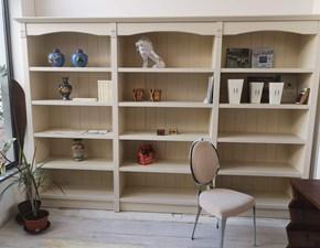Libreria in laccato opaco stile classico Mina Artigianale