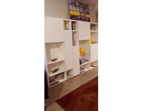 Libreria in laccato opaco stile moderno Spazio Pianca