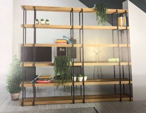 Outlet soggiorni librerie sconti fino al 70 for Librerie design outlet