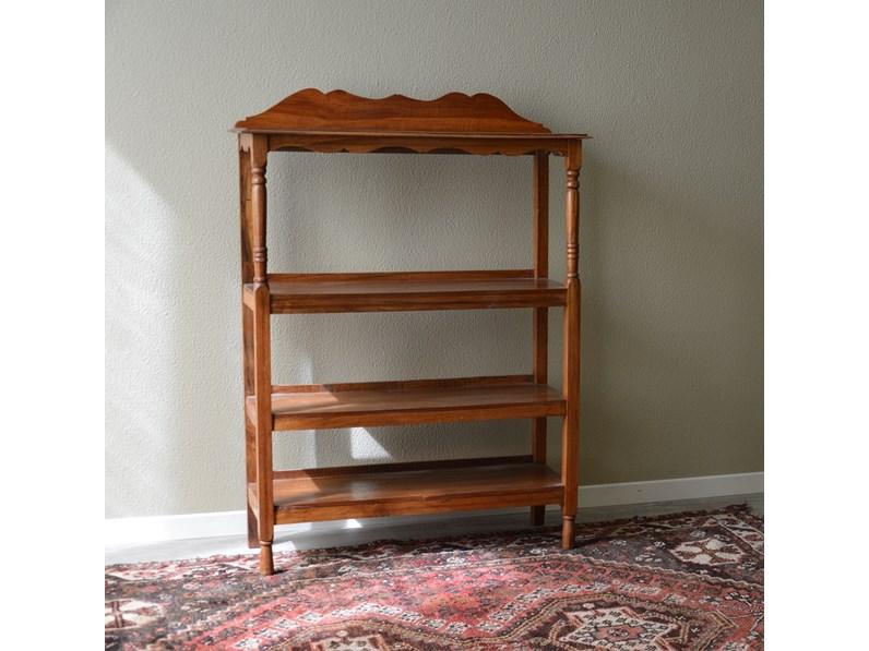 Libreria in legno massello di Produzione Artigianale - Scontata ...