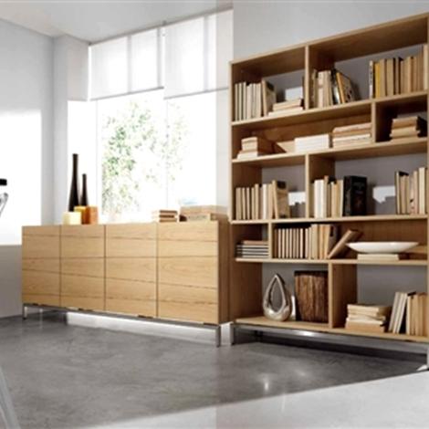 libreria in legno offerta soggiorni a prezzi scontati