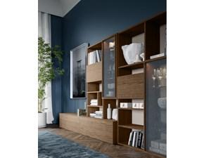 Libreria in legno stile design Composizione day 3 San michele