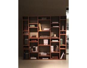 Libreria in legno stile moderno Lounge Pianca