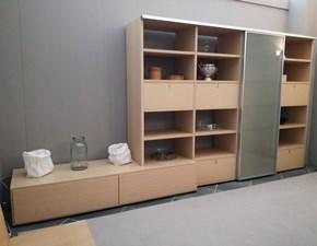 Libreria in legno stile moderno Wall to wall Poliform