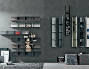Libreria in metallo stile moderno Atlante Tomasella