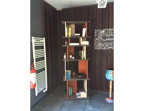 Libreria in stile design Former in legno Offerta Outlet