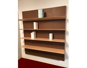 Libreria in stile design Matteograssi in legno Offerta Outlet