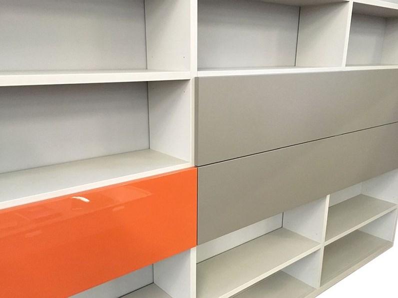 Soggiorni Moderni Tisettanta : Libreria in stile moderno di tisettanta laccato opaco