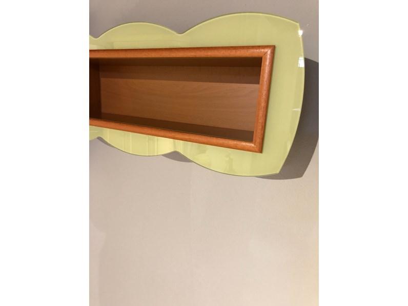 Libreria in stile moderno rimadesio in legno offerta outlet for Rimadesio outlet