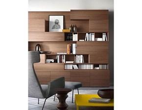 Libreria Legno Artigianale in legno a prezzo scontato