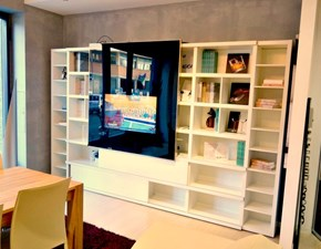 Libreria Lema in laccato opaco Md house l 330 a prezzo Outlet