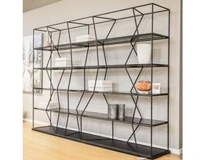 Libreria Lexington Bontempi casa in stile design a prezzo ribassato
