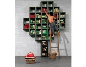 Libreria Libreria 30mm Lago in stile design a prezzo scontato