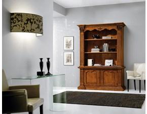 Libreria Libreria artigianale mod.canterbury in legno massello scontata del 45% Artigianale in legno a prezzo scontato