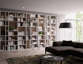 Libreria Libreria-componibile mod.living di giessegi Giessegi in stile moderno a prezzo scontato