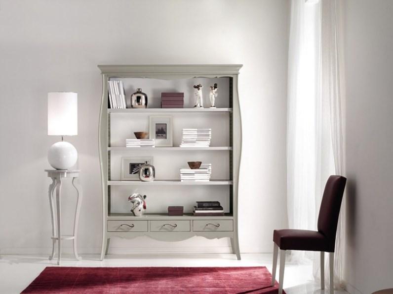 Libreria Libreria in legno shabby chic mottes mobili Artigianale con uno  sconto del 50%