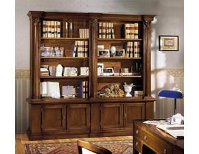 Libreria Libreria stile impero in massello di noce scontata del 30% Artigianale con un ribasso del 30%