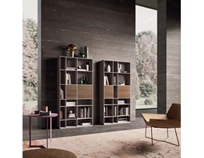 Libreria Libreria wall 12 Orme in stile design a prezzo ribassato