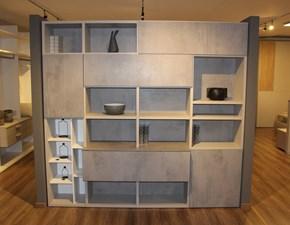 Libreria Luce Colombini in stile design a prezzo scontato
