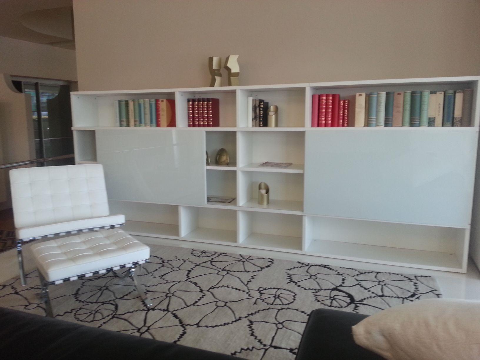 Libreria bianca design duzzle mensola me bianca tft with for Libreria a muro bianca