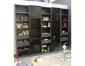 Libreria Metropolis Tisettanta in stile design a prezzo ribassato