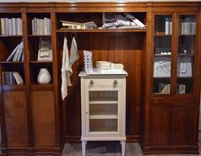 Libreria MG800 Marchetti noce nazionale massello