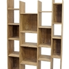 libreria minimal zen  il rovere massello light india in offerta