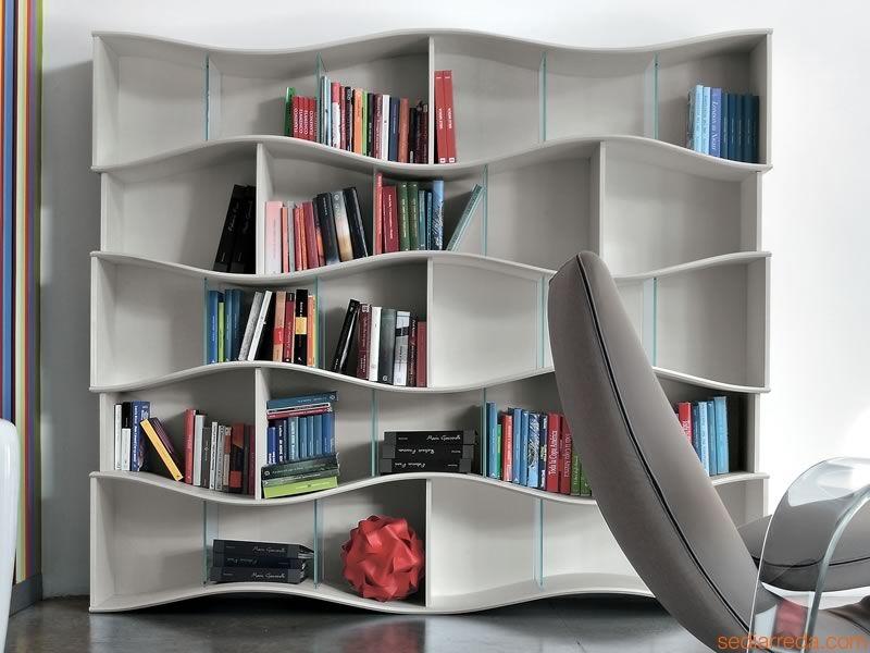 libreria moderna bianca soggiorni a prezzi scontati