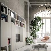 Libreria mobile soggiorno moderno su misura colori personalizzabili a scelta