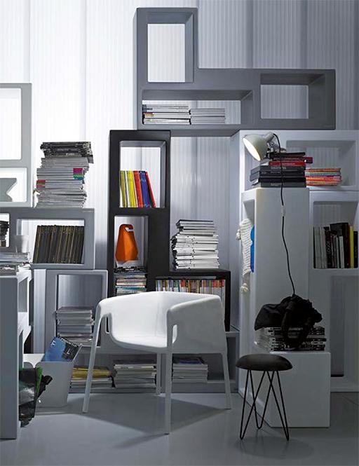 Libreria modulare modello urban prodotto di alto design for Libreria modulare