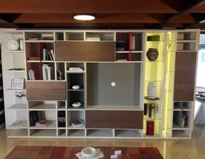 Libreria Mood Astor mobili OFFERTA OUTLET