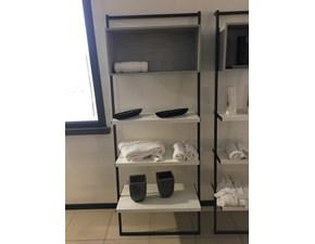 Libreria Movida Tomasella in metallo a prezzo Outlet