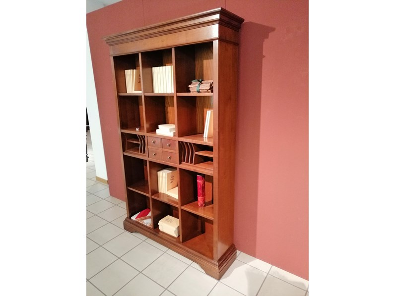 Librerie In Legno Prezzi.Libreria Origine In Legno A Prezzo Scontato