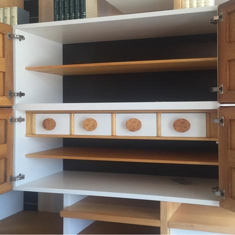 Libreria porta tv marchetti da cm 300 in legno massello scontata soggiorni a prezzi scontati - Marchetti mobilificio d arte ...