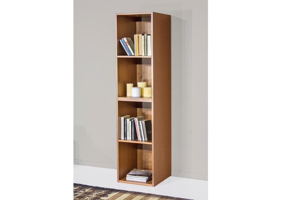 Libreria Quadratus 1 ciliegio - Soggiorni a prezzi scontati