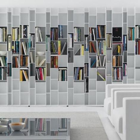 Mobile libreria mdf italia soggiorni a prezzi scontati - Libreria mobile ...