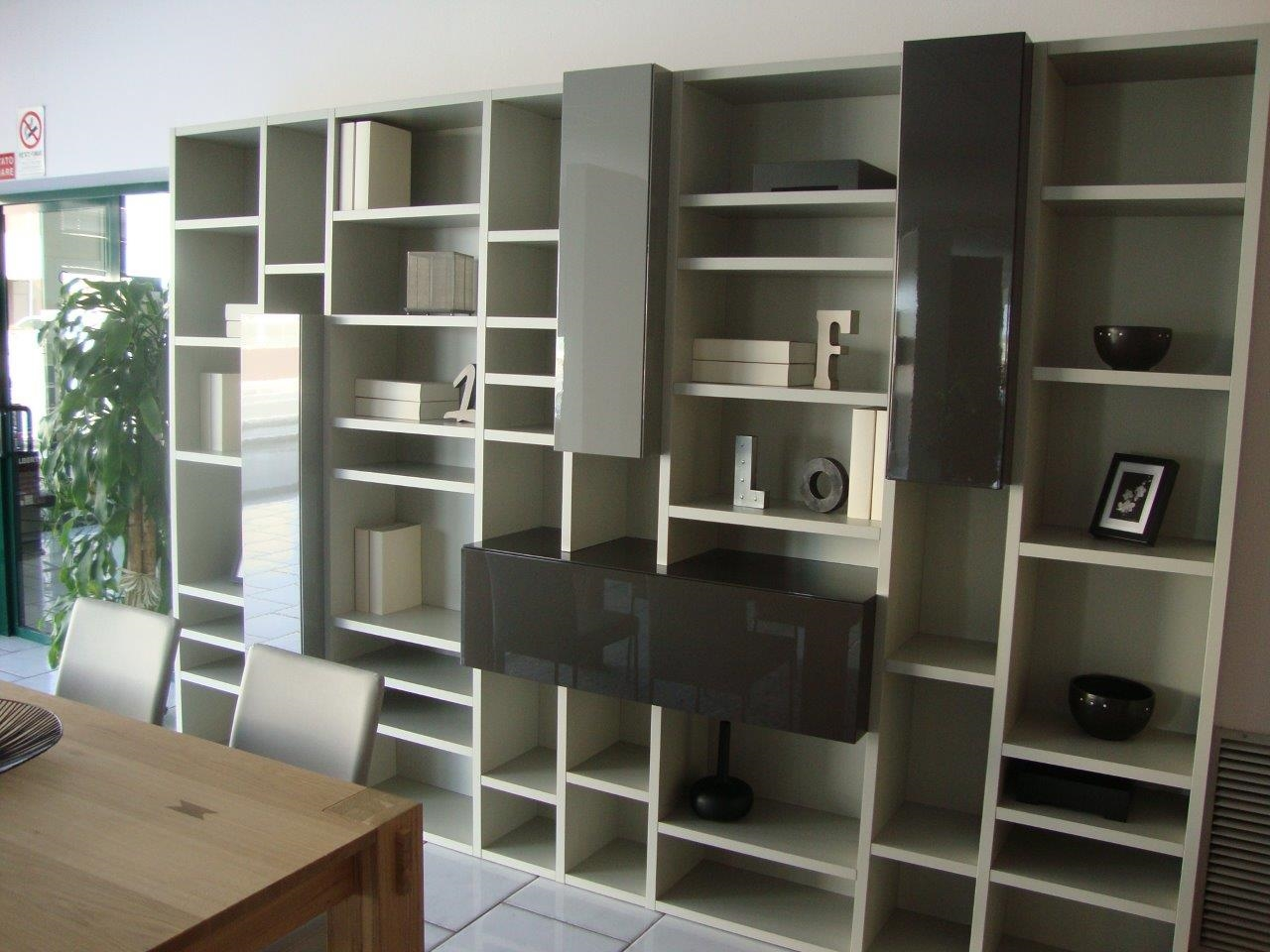 libreria sangiacomo occasione soggiorni a prezzi scontati. Black Bedroom Furniture Sets. Home Design Ideas