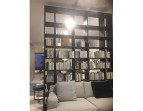 Libreria Selecta Lema in legno in Offerta Outlet