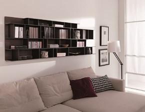 libreria Byblos in impiallacciato Rovere termotrattato