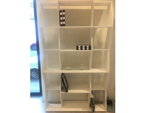 Libreria Swing  Doimo idea in laccato opaco a prezzo Outlet