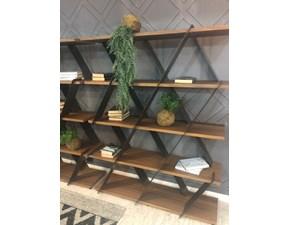Libreria Tonin casa in legno Libreria castle a prezzo Outlet