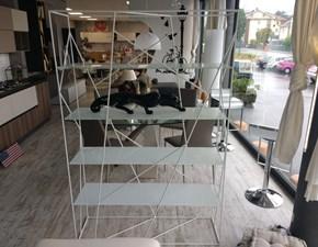 Libreria Tonin casa in metallo a prezzo Outlet