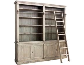 Libreria Uno in legno stile classico La seggiola