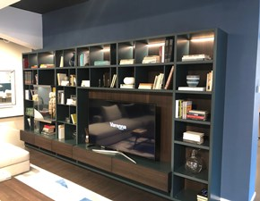 Libreria Wall system Poliform OFFERTA OUTLET