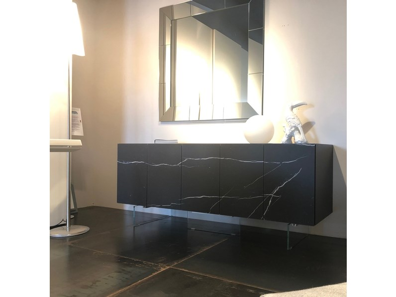Madia 36e8 x glass lago in vetro in offerta outlet for Lago mobili prezzi