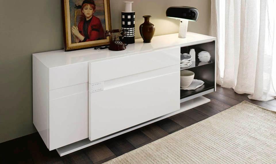 Soggiorni Moderni Lucidi : Madia alf modello vanity offerta soggiorni a prezzi scontati