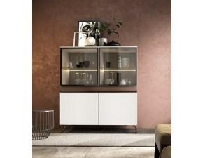 Madia Artigianale in laccato opaco Mottes mobili abaco 14 a prezzo Outlet