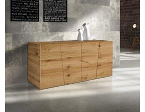Madia Artigianale in legno Art.t8910 in Offerta Outlet