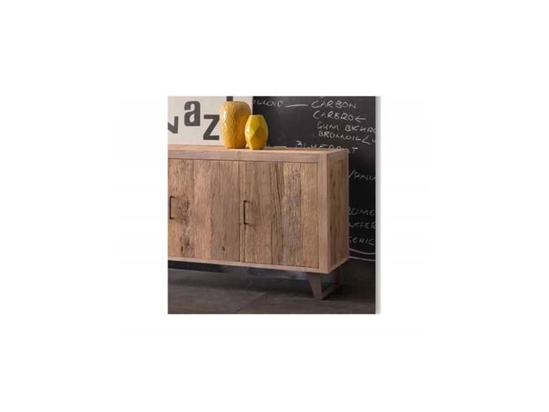 Come Costruire Una Madia Legno.Madia Artigianale In Legno Br001 A Prezzo Outlet
